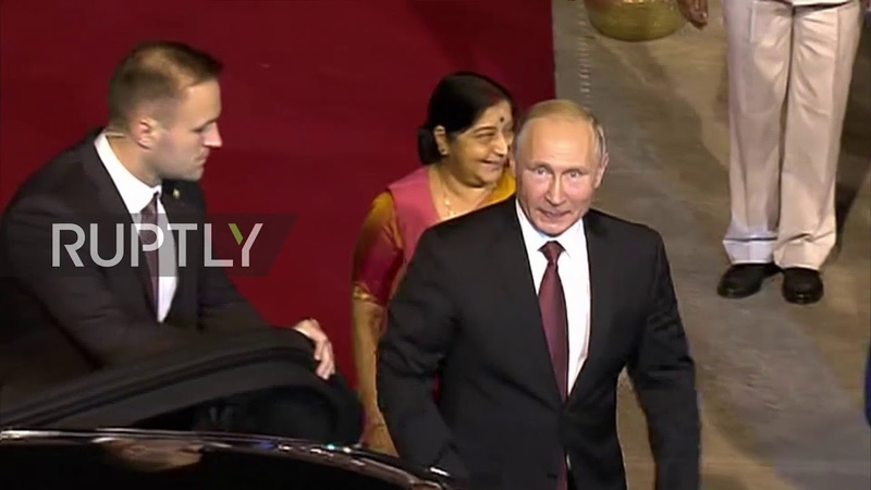 India Putin lands in New Delhi ahead of 19th India-Russia summit