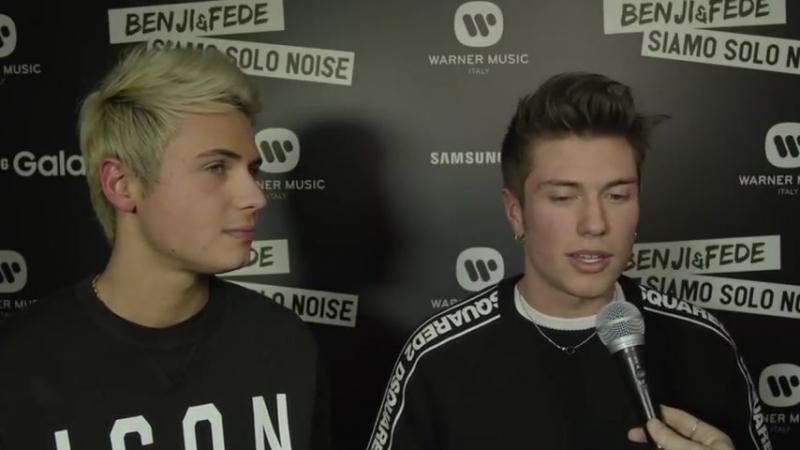 """Benji e Fede """"Siamo solo Noise! Facciamo rumore e siamo ironici"""""""