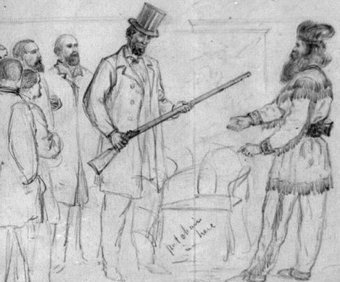 Сет Кинман  один из первопоселенцев округа Гумбольдт, (Калифорния), охотник и знаменитый изготовитель мебели. Он был также владельцем гостиницы, барменом и музыкантом.