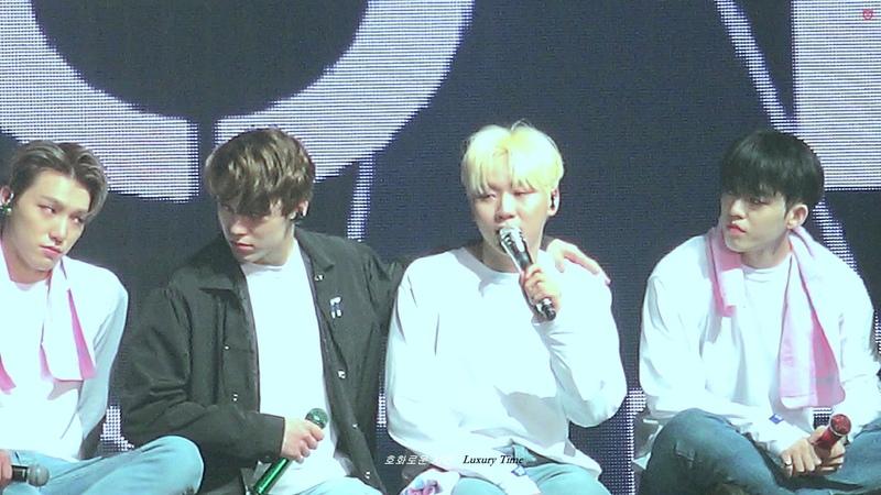 [FANCAM] [181104] Seventeen (세븐틴), Ment (DK, Hoshi, Seungkwan, SCoups, Mingyu) @ Ideal Cut The Final Scene Concert in Seoul D-2