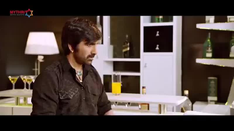 Рави теджа тизер фильма