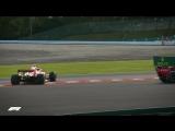 Verstappen And Vettel Collide 2018 Japanese Grand Prix
