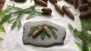 Evergreen Imprinted Fir Cones Gypsi/ Гипс ЕЛОВЫЕ ШИШКИ Мастер-класс
