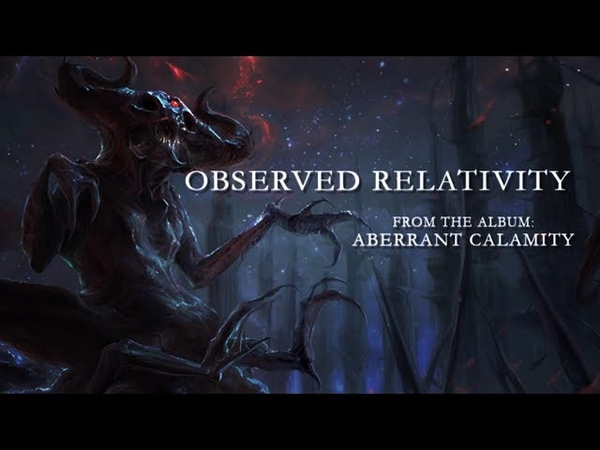 PRION - OBSERVED RELATIVITY [OFFICIAL LYRIC VIDEO] (2019) SW EXCLUSIVE