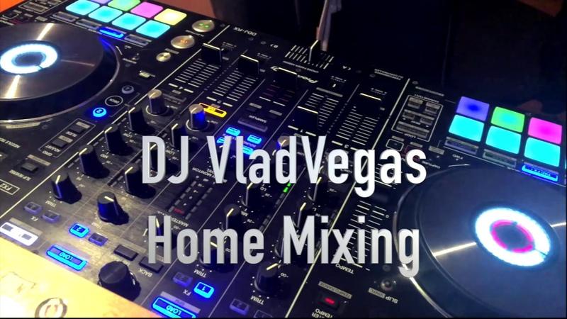 Dj VladVegas Pioneer DDJ-RX Rekordbox Mixing