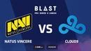Natus Vincere vs Cloud9 Overpass BLAST Pro Series Lisbon 2018