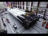 Как собирали Falcon Heavy Block 5, которая полетит во вторник.