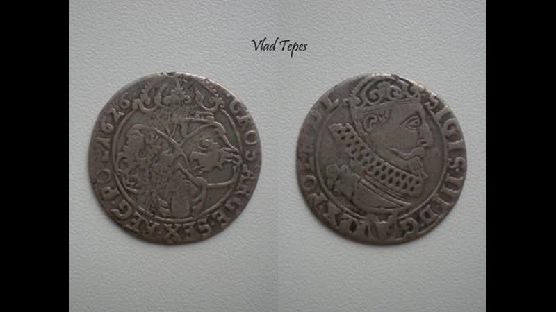 Lithuanian Polish coins XVII-XX cent.