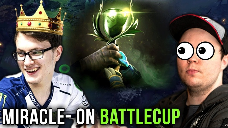 Miracle- on Battlecup with his Best Friends vs Admiral Bulldog in Finals - Can he Stop the M-God?