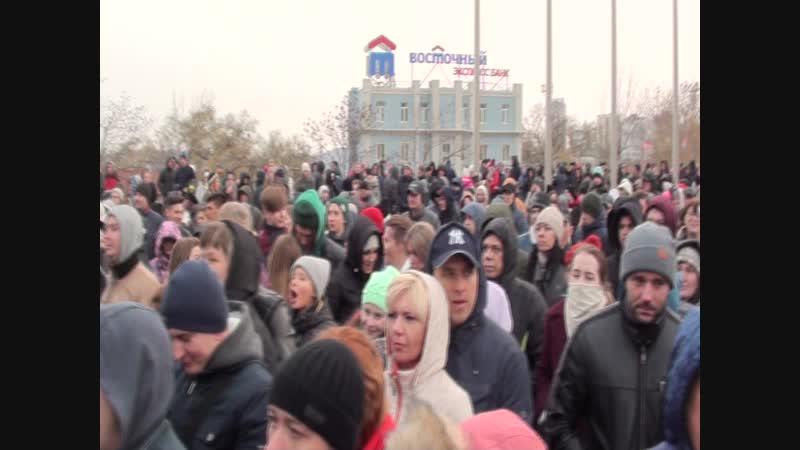 День Народного Единства 4.11.18 ч.1 Владивосток Дмитриев Дмитрий