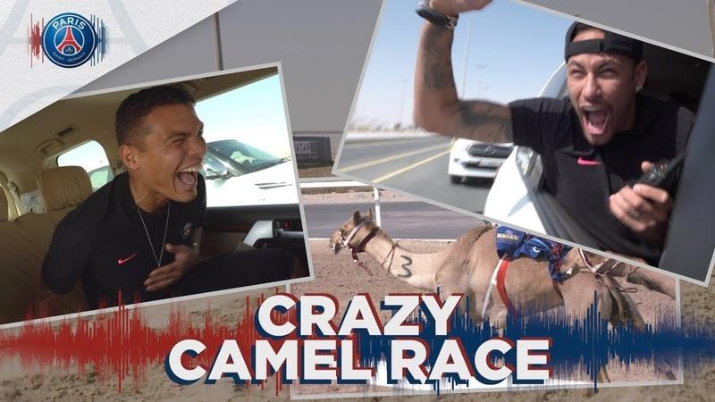 CRAZY CAMEL RACE with Neymar Jr, Mbappé