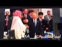 Рукопожатие Путина и саудовского принца