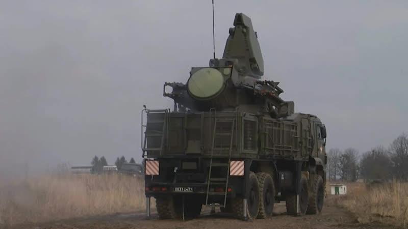 Зенитчики трех флотов России выполнили стрельбы из комплексов «Панцирь-С1» на полигоне в Калининградской области