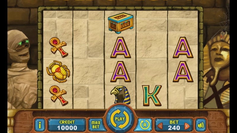 Game Asset Egypt Slots by RomRam