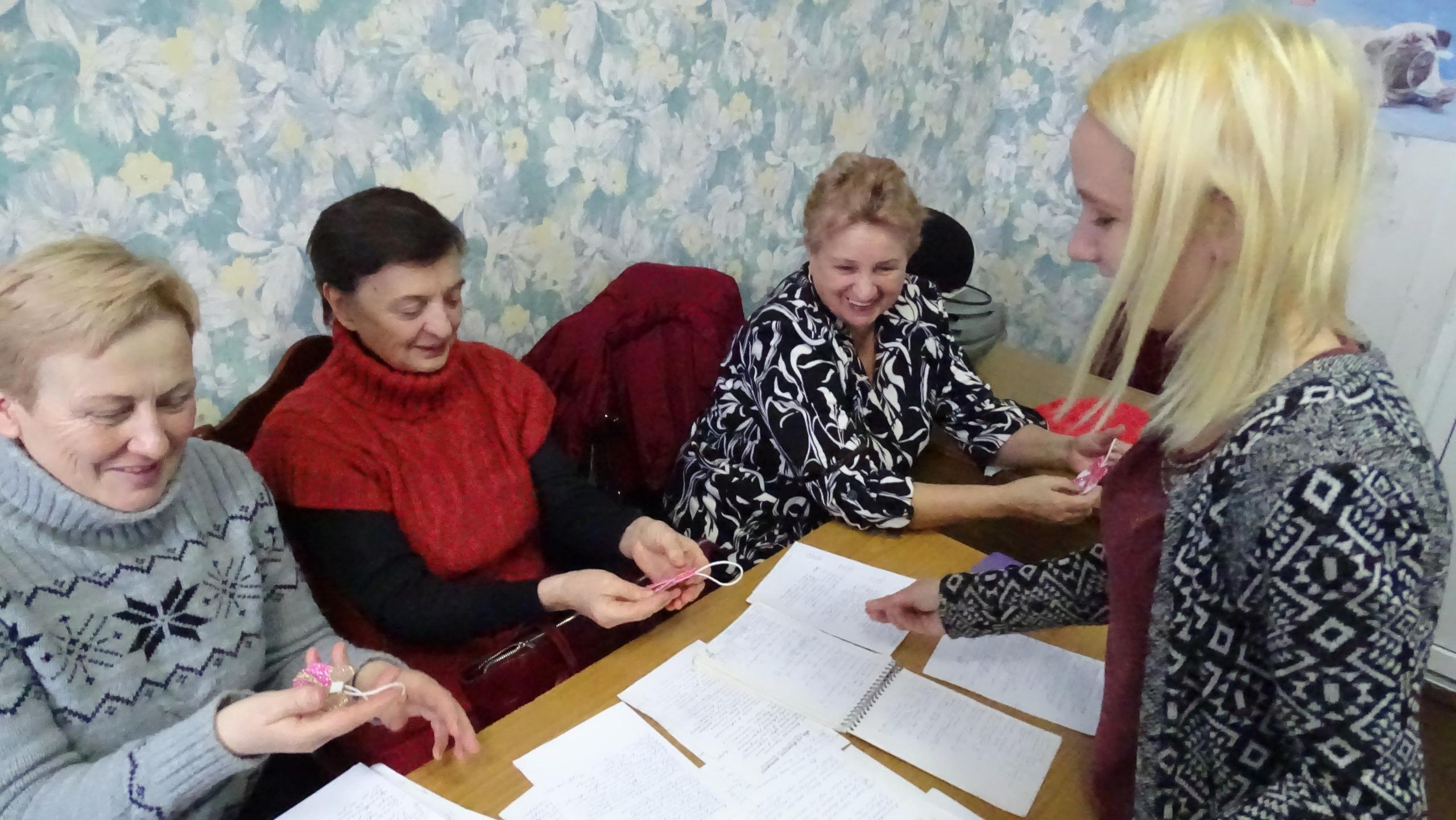 Посиделки для пожилых в доме культуры пансионаты для пожилых людей самарская область