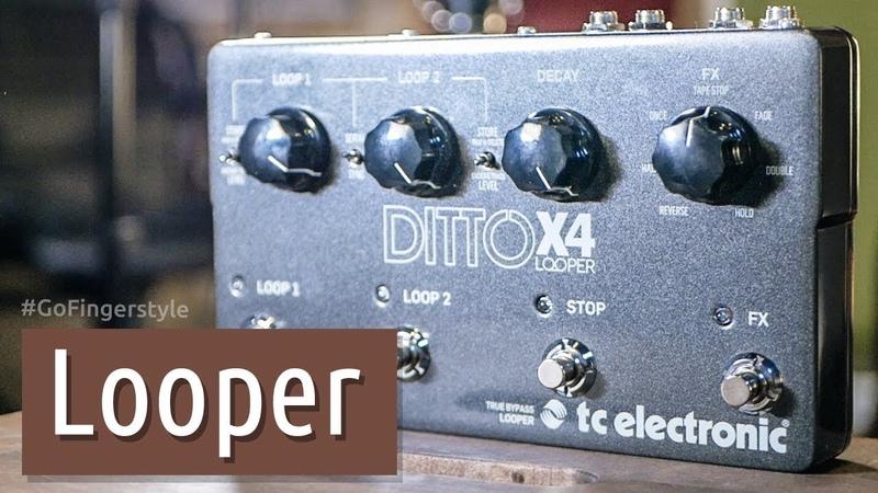 Неслабый лупер Ditto X4 от TC Electronic