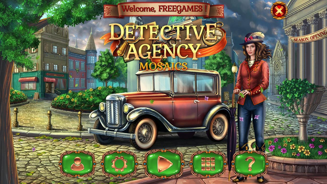 Детективное агентство Мозаика | Detective Agency Mosaics (En)