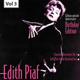 Édith Piaf альбом Edition Speciale Anniversaire. Birhday Edition - Edith Piaf, Vol.3