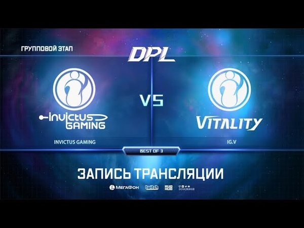 IG vs DPL Season 6 Top League bo3 game 1 Adekvat 4ce
