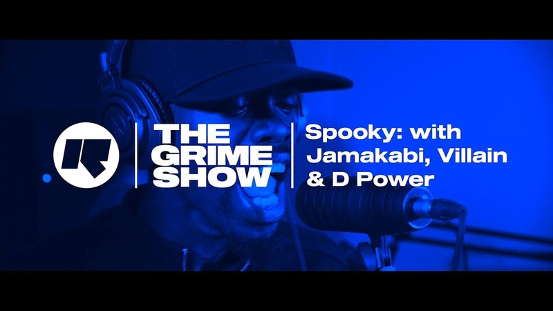 The Grime Show Spooky with Jamakabi Villian D Power