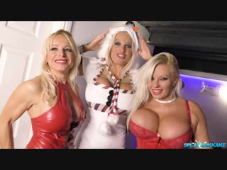 Christmas party 2018 bukkake session [Sophie Anderson,Michelle Thorne,Tara Spades,Classy Filth, Facial]