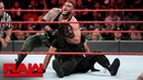 The Kingslayer The Shield vs Baron Corbin AOP Raw Sept 24 2018