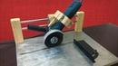 Angle Grinder Sliding Cutting Jig Kızaklı Avuç Taşlama Standı