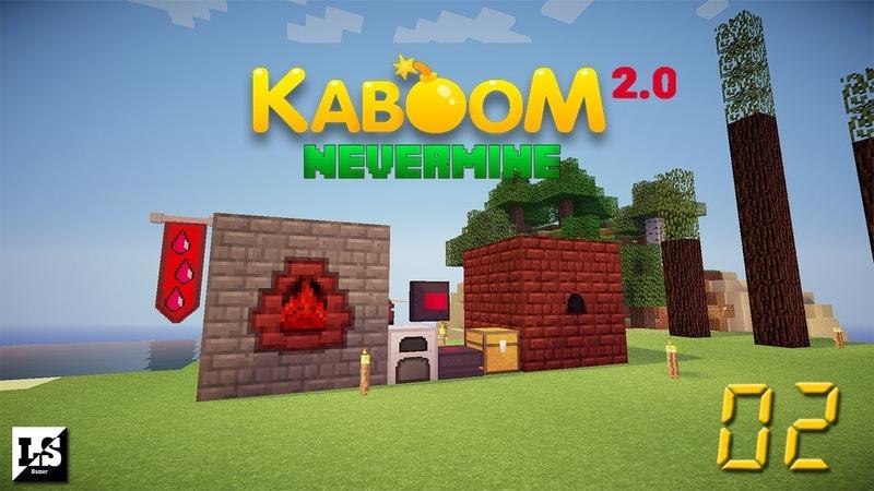 Minecraft Kaboom 2 0 Nevermine 02 Первая энергия