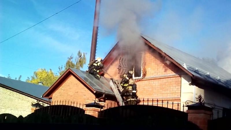 Кострома. Пожар на Ивановской