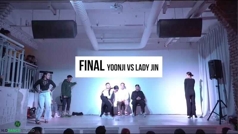 2019 DANCE WAR WAACKING FINAL YOONJI VS LADY JIN