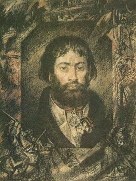 Курин Герасим Матвеевич Война 1812 года была поистине народной. Война обеспечила высочайший патриотический подъём и в армии, и среди простого народа. Именно поэтому война называется