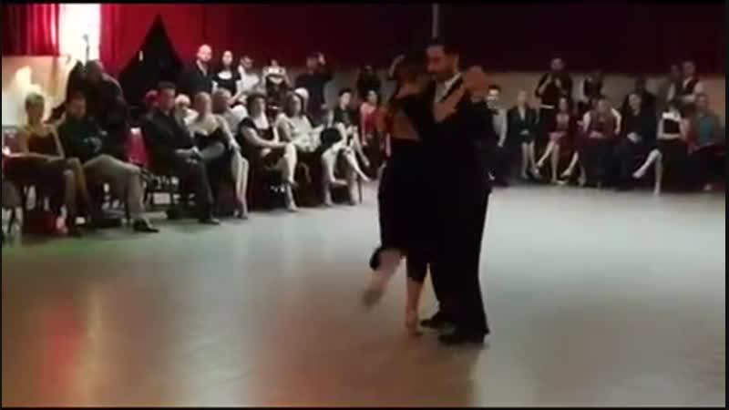 "Fausto Carpino y Stephanie Fesneau Di Sarli _""Gracias_"" 1_⁄4 Ferrara"
