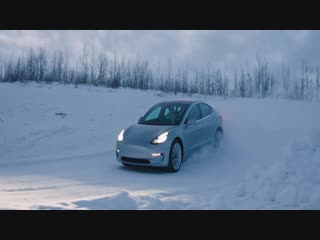 Tesla-NA-Winter-Driving-Experience