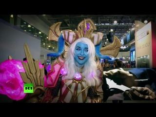 В московском выставочном комплексе «Крокус Экспо» прошёл юбилейный пятый фестиваль Comic Con Russia