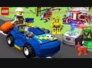 Lego Juniors Quest - Lego Ninjago Lego Police Car, Fire Truck, Construction Vehicles Kids Videos - (aneka.scriptscraft) 720p