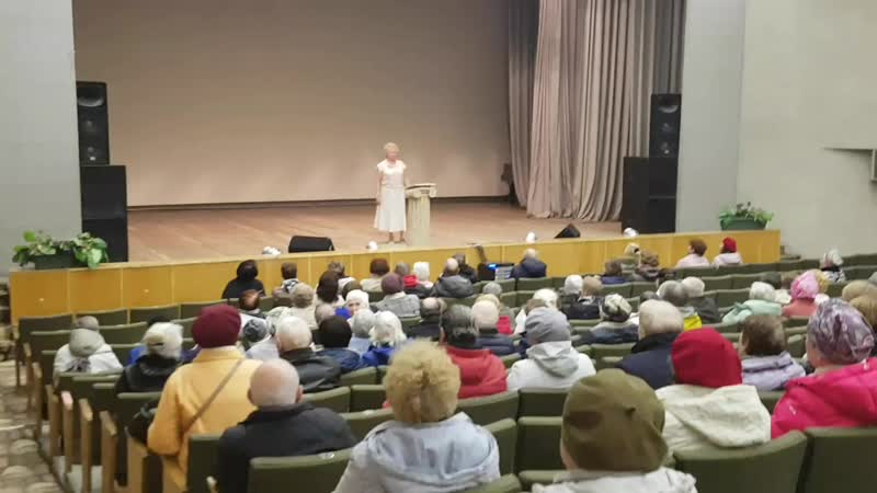 Концерт Жанны Стома