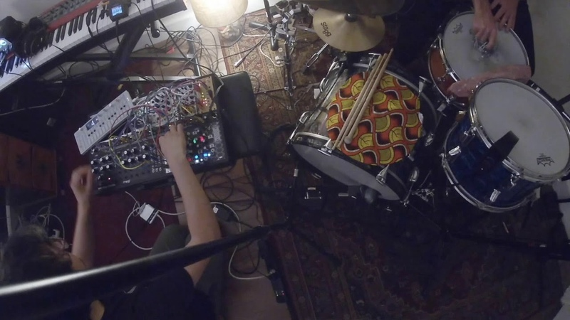 Improvised Duet with Ross McReynolds : Acoustic Drums / Modular via Sensory Percussion