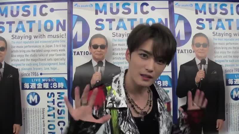 Music station ジェジュン さんが Mステカメラ 📹に登場~‼ 今夜のテーマは…『 地元トーク』 韓国で生まれ育ったジェジュンさんの地元トークです😎Ⓜ このあとMステで『 Defiance 』をテレビ初披露!!😍🎶 今夜の Mス