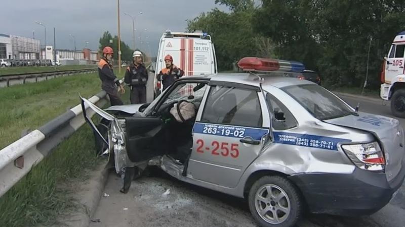 Хонда сломала ГАИшнику ноги