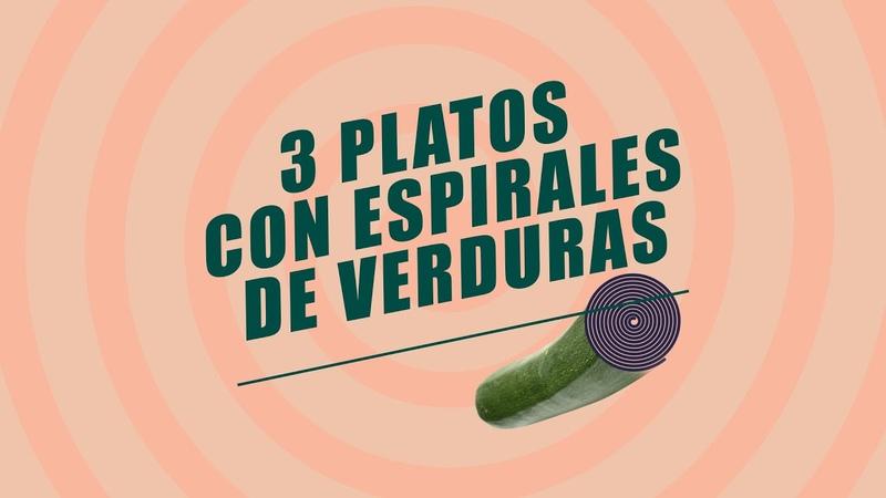 EL COMIDISTA   Tres platos con espaguetis de verduras