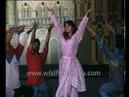 Juhi Chawla rehearses for a film award show: Archival footage