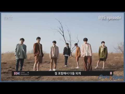 [Озвучка by Cara Linne]Съёмка LYTear|[EPISODE] BTS LOVE YOURSELF 轉 Tear Jacket shooting sketch