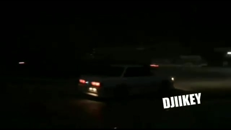 ДТП во время ночного дрифта у Речного порта. 23.09.2018
