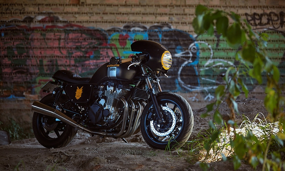 Senor Motorcycles: кафе рейсер Honda CB750 La Interceptor