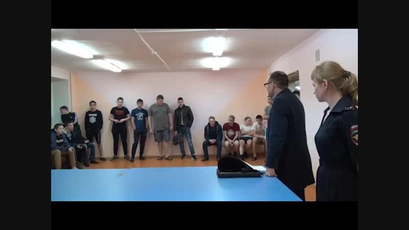 В рамках акции Общежитие целая жизнь ялуторовские полицейские представители Общественного совета и ветеранской организации вс