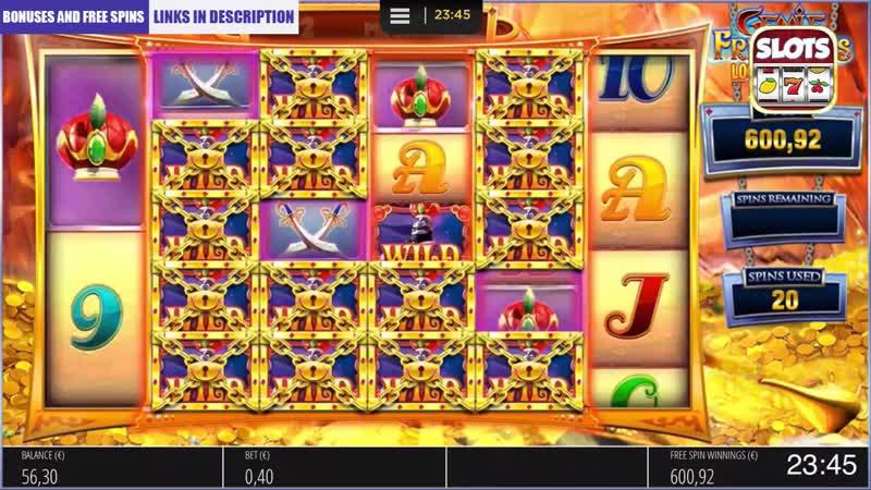 Casino Slot Bonus Compilation (JAMMIN JARS, HOLY DIVER, GENIE JACKPOT MEGAWAYS, (1)
