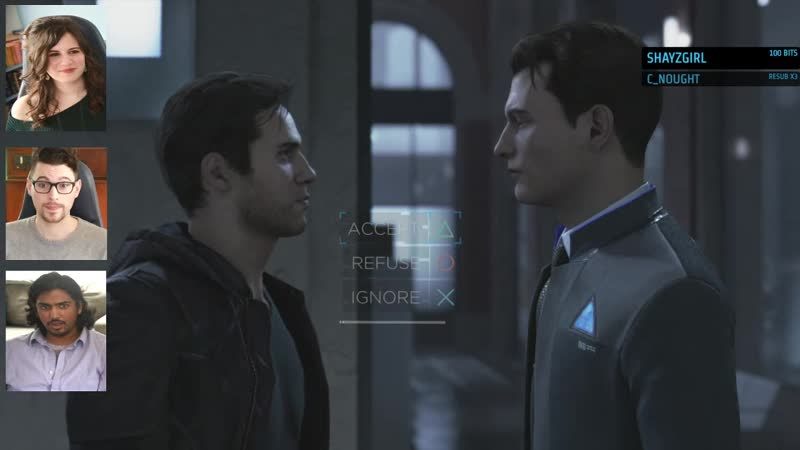 Convin /GET A MOVE ON! *I love you*/ Connor, Gavin Reed (Detroit: Become Human)