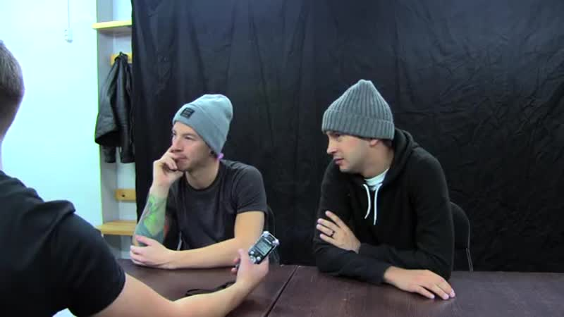 Twenty One Pilots interview on Radio NRJ Finland