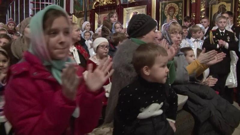 Рождественкий концерт в Боголюбском храме