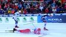 Лыжные гонки. Кубок мира. Отепя. Мужчины. Спринт. Классика. падение Глеба Ретивых
